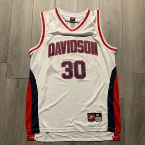 Steph Curry Davidson NCAA / College Jersey XL